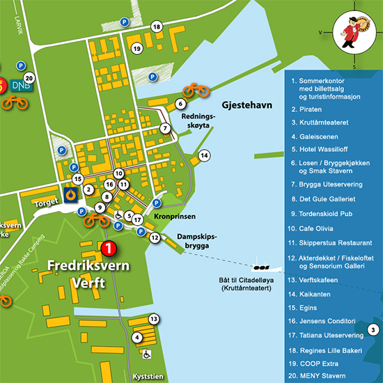 eftang kart Visit Stavern eftang kart